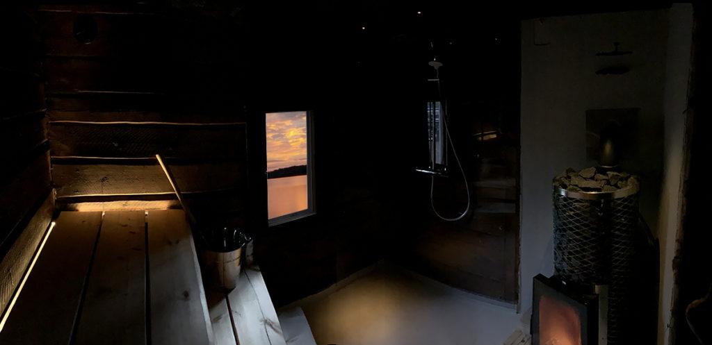 hämyinen sauna